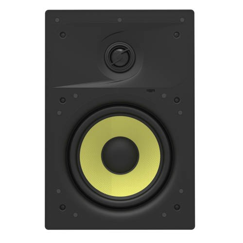 8-inch Kevlar 2-Way In-Wall Speakers (Pair) - 80W Nominal, 160W Max