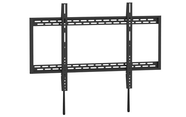 Low Profile - Wall Mount Bracket for LCD LED Plasma (Max 220 lbs, 60 – 100 inch), BLACK, UL Rated