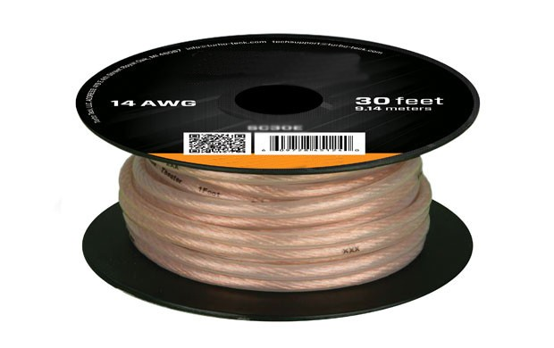 30ft 14AWG High Quality Speaker Wire Cable