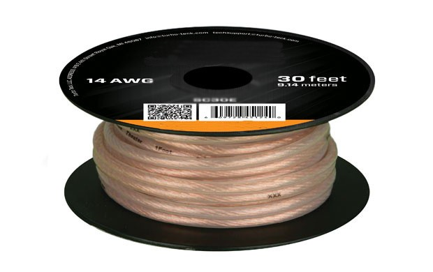 50ft 16AWG High Quality Speaker Wire Cable