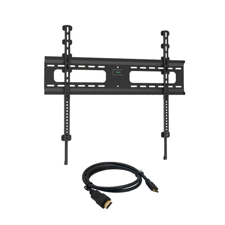"Low Profile Fixed Wall Mount for 37"" – 70"" Flat Panel TVs -  w/ 6ft HDMI® Cable"