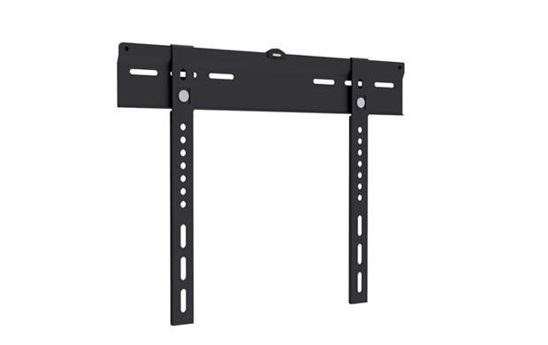 Ultra-Slim Low Profile Wall Mount Bracket for LCD LED (Max 99 lbs, 23-42 inch), Black
