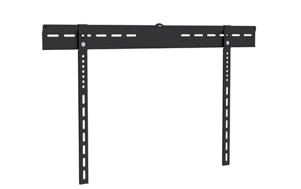 Ultra-Slim Low Profile Wall Mount Bracket for LCD LED (Max 143 lbs, 37-70 inch), Black