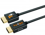 4 Feet - 18Gbps Ultra Slim Series High Performance HDMI® Cable w/ RedMere® Technology - Black